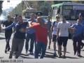В Харькове напали на мужчину в футболке с надписью
