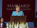 Меркель присвоили степень в Гарварде