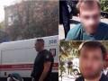 В Киеве полицейские со стрельбой задержали бандитов