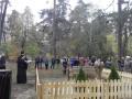 Под Киевом украли памятник героям АТО и кинули в болото