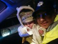 В Киеве полицейские спасли младенца после операции