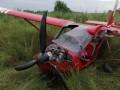 На поле под Коломыей жестко сел самолет