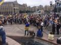 Поддержать Саакашвили на Майдан вышли сотни людей