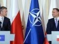 Генсек НАТО и президент Польши поспорили о диалоге с РФ