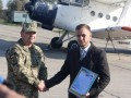 Волонтер подарил ВМС Украины самолет