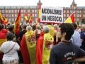 В Мадриде протестуют против референдума в Каталонии