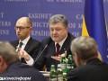Большинство украинцев недовольны Порошенко и Яценюком - опрос