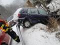 В Чехии снегопады парализовали движения на трассах
