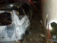 В Запорожской области взорвался Chevrolet