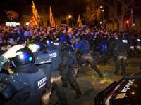 Протесты в Барселоне: 27 пострадавших