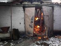 В Киевской области горел цех по производству растительного масла