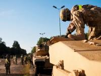 Танковая бригада США прибыла в Европу