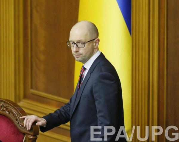 В ГПУ подозревают, что Яценюк получил крупную взятку
