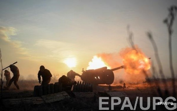 Артиллерия применялась в районе Лебединского