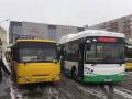 В Киеве запустили первый электробус общественного транспорта марки Skywell