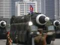 Военный парад в Пхеньяне: фото масштабного события