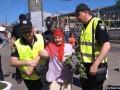 В Днепре за георгиевскую ленту оштрафовали пенсионерку