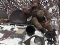 Бойцы ООС поздравили украинцев с Новым годом