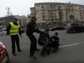 В центре Киева луганский блогер устроил потасовку с полицейскими