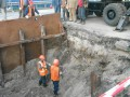 Из-за повреждения коллектора в Киеве ограничено движение