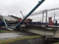 В РФ обрушился мост над Транссибирской магистралью