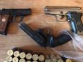 В Киеве подпольно изготавливали оружие