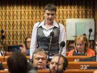 Савченко: Россия нанесла нам удар в спину