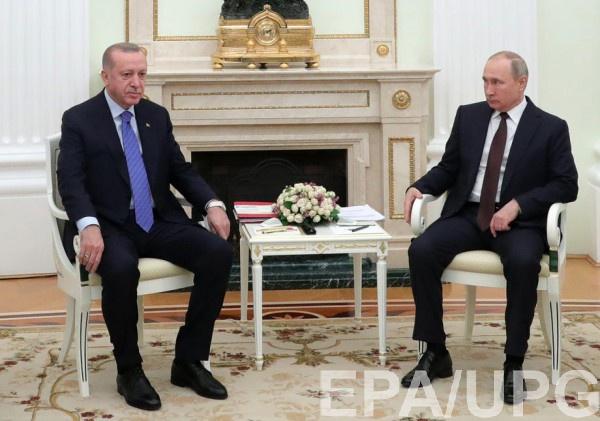 В Москве проходят переговоры Путина и Эрдогана