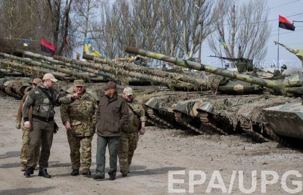 По словам Басурина, ВСУ намерены наступать в районе Широкино