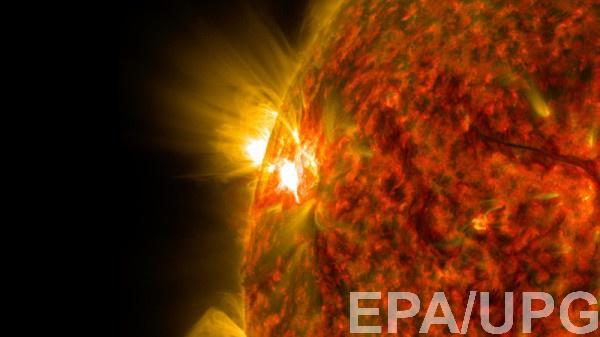 NASA удалось увидеть появление солнечного ветра