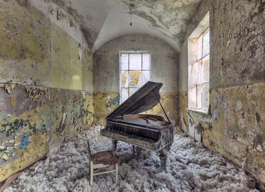 Заброшенные здания Европы. Часть I – Christian Richter