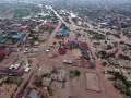 Сильный ливень в Гане спровоцировал наводнение