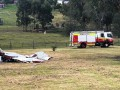 Пилот разбился на собранном самостоятельно самолете