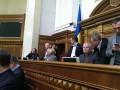 Оппозиция уже блокирует работу Рады