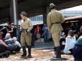 В Киеве показали, как депортировали крымских татар: Перформанс