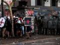 В Чили почти 300 протестующих получили травмы глаз