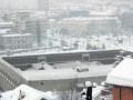 В Сараево крыша спорткомплекса рухнула под тяжестью снега