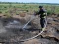 Под Львовом началось масштабное возгорание торфа