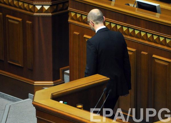 О результатах работы правительства  Арсения Яценюка за последние 100 дней