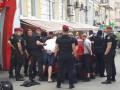В Киеве задержали 29 человек, которые хотели напасть на посольство