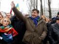 Саакашвили возобновит марши в Киеве с 21 января