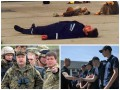 День в фото: Шкиряк на взлетке, Турчинов на полигоне и Яценюк с кадетами