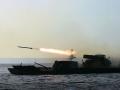 Украинские десантники впервые отстрелялись из Градов с парома