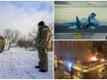 Итоги 5 декабря: Порошенко на Донбассе,  крушение истребителя РФ и пожар в Киеве