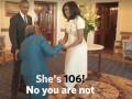 Президентская вечеринка: 106-летняя бабушка пустилась в пляс с Обамой