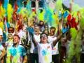 Все цвета радуги: в Киеве состоялся красочный забег