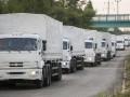 Грузовики из России снова готовятся нарушить границу Украины