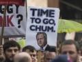 В Британии прошли протесты с требованием отставки Кэмерона