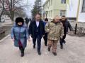 Глава Полтавской ОГА Синегубов встретился с митингующими