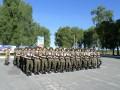 В Киеве прошла репетиция военного парада ко Дню Независимости